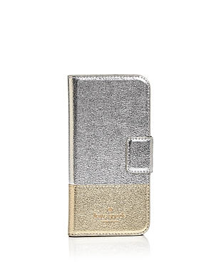 kate spade new york Wrap Folio Leather iPhone 7/8 Case