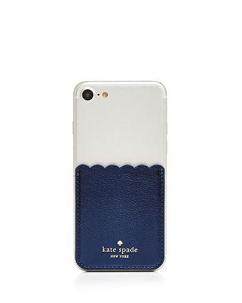 kate spade new york - Stick To It iPhone 7/8 Case & Adhesive Pocket Set