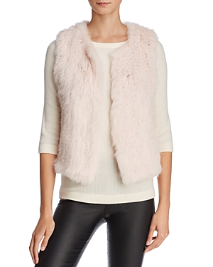 525 America Rabbit Fur Cropped Vest - 100% Exclusive