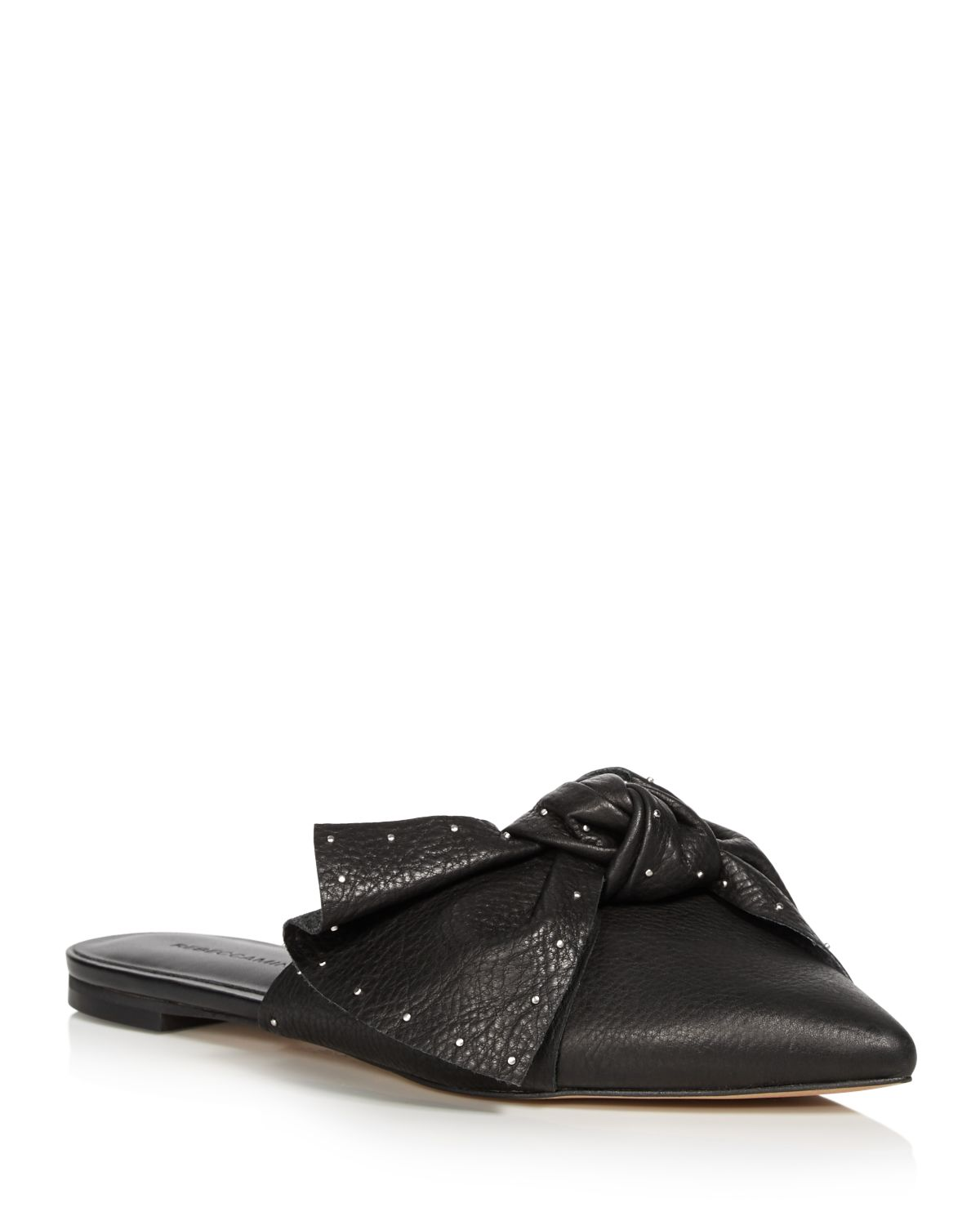 Rebecca Minkoff studded pointed mules