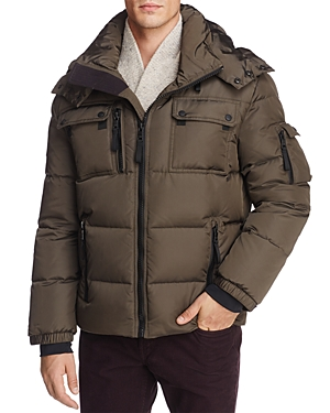 Sam. Collins Hooded Puffer Jacket