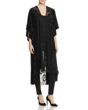 Band of Gypsies Crushed-Velvet & Lace Kimono - 100% Exclusive