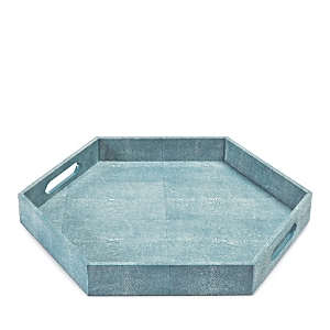 Regina Andrew Design Shagreen Hex Tray