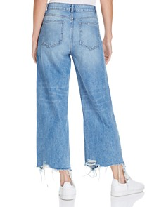 DL1961 - Hepburn High-Rise Wide-Leg Jeans in Slate