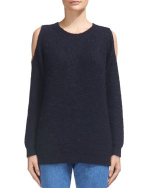 Whistles Cold-Shoulder Sweater