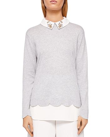35e29764a0447 Ted Baker - Suzaine Layered-Look Sweater