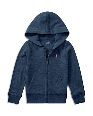 Ralph Lauren Childrenswear Girls French Terry Hoodie  Little Kid