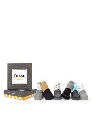 Trumpette Boys' Chase Loafer Socks, Set of 6 - Baby