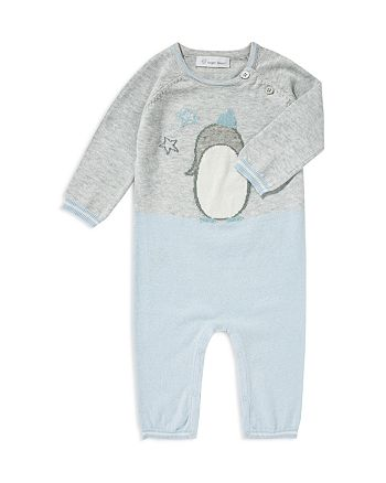 Angel Dear - Boys' Color-Block Penguin Coverall - Baby