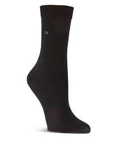 Calvin Klein Luxe Cotton-Blend Crew Socks - Bloomingdale's_0