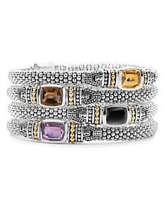 LAGOS 18K Gold and Sterling Silver Caviar Color Gemstone Bracelets - Bloomingdale's_0