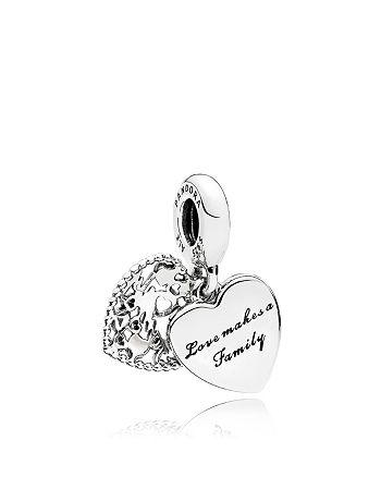 Pandora - Sterling Silver & Enamel Love Makes a Family Charm