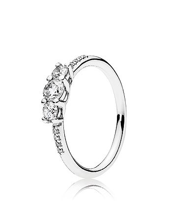 PANDORA - Sterling Silver & Cubic Zirconia Fairytale Sparkle Ring