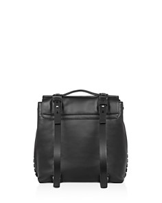 ALLSAINTS - Fin Convertible Leather Backpack