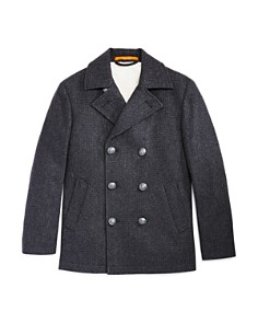 Tallia - Boys' Faux-Shearling-Lined Peacoat - Big Kid