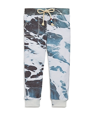 Sol Angeles Boys Frothy Waves Print Joggers  Little Kid