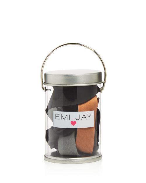 Emi Jay - Metallic Flexx Hair Ties, Set of 6