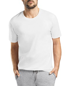 Hanro Living Crewneck Short Sleeve Tee - Bloomingdale's_0