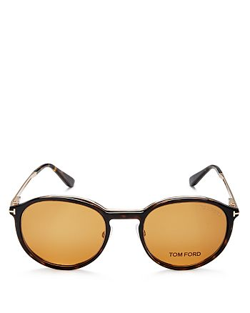 5baebb07ba Tom Ford - Optical Magnetic Clip-On Lens Round Sunglasses