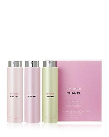 CHANEL - CHANCE Eau de Toilette Travel Trio Gift Set