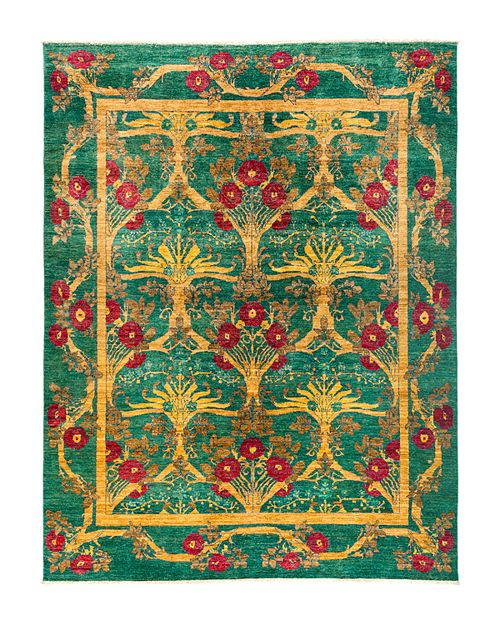 Solo Rugs - Eclectic Area Rug, 8' x 10'