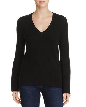 Elie Tahari Merino Wool Bell Sleeve Sweater - 100% Exclusive