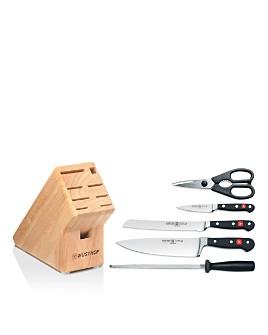 Wüsthof - Classic 6 Piece Knife Block Set - 100% Exclusive