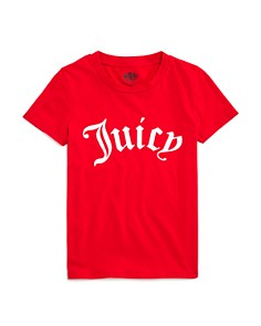 Juicy Couture Black Label Girls' Track Gothic Juicy Tee - Big Kid - Bloomingdale's_0