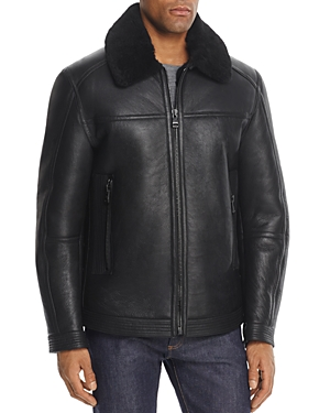 Andrew Marc Irving Shearling Jacket