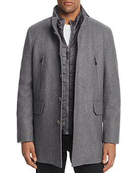 Cole Haan - Melton Three-In-One Topper Coat