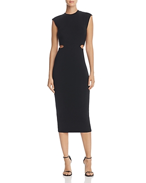 T by Alexander Wang Cutout Column Dress