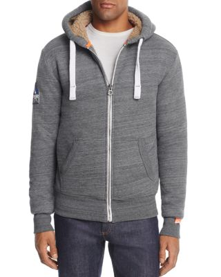 SUPERDRY ORANGE LABEL URBAN BOMBER SWEATSHIRT