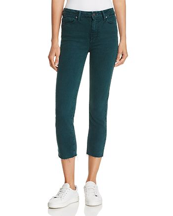 PAIGE - Hoxton Ankle Skinny Jeans in Vintage Caspian Sea - 100% Exclusive