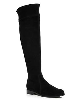 La Canadienne - Women's Secret Waterproof Suede Low Heel Boots