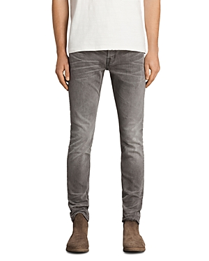 Allsaints Boise Rex Slim Fit Jeans in Gray