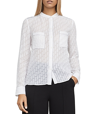Bcbgmaxazria Crosby Textured Top
