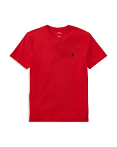 Ralph Lauren - Boys' V-Neck Tee - Big Kid