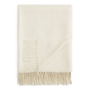 Fraas Solid Cashmere Throw - 100% Exclusive
