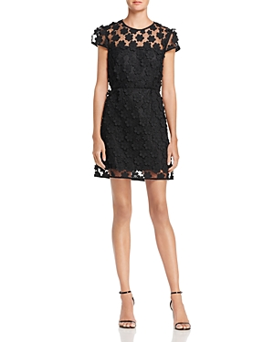 Milly Angie Floral Lace Dress