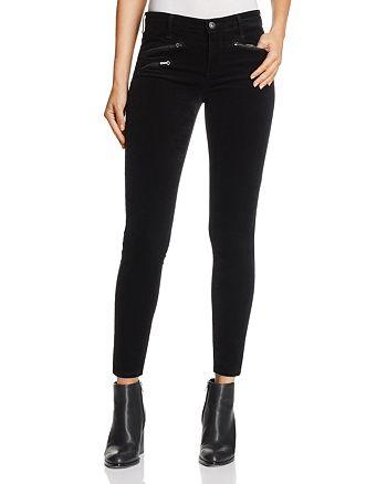 AG - Legging Ankle Velvet Jeans in Super Black