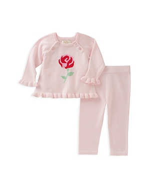 kate spade new york Girls' Rose Sweater & Pants Set - Baby