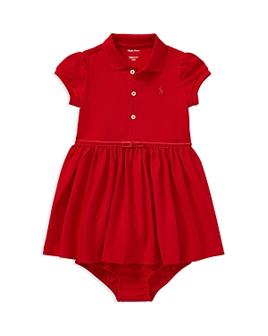 Ralph Lauren Childrenswear Girls Polo Dress  Bloomers Set  Baby