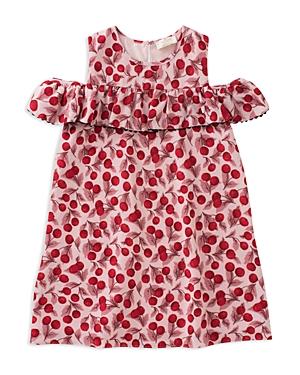 kate spade new york Girls CherryPrint RuffleSleeve Dress  Little Kid