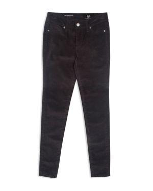 ag Adriano Goldschmied Kids Girls' Super Skinny Velvet Pants - Big Kid