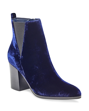 Ivanka Trump Women's Adel Velvet Booties