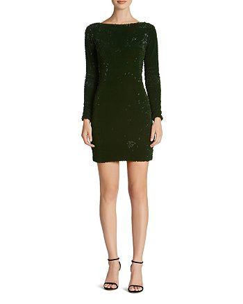 Dress the Population - Lola Velvet Sequin Dress