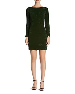 Dress the Population Lola Velvet Sequin Dress