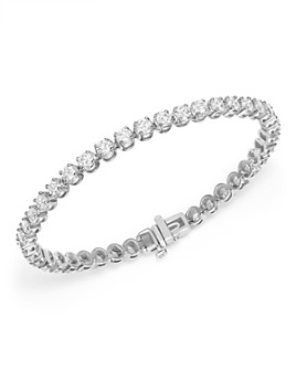 Bloomingdale's - Diamond Tennis Bracelet in 14K White Gold, 7.0 ct. t.w. - 100% Exclusive