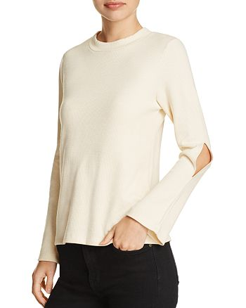 LNA - Salem Cutout Bell Sleeve Top