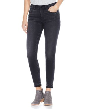 Vince Camuto Released Hem Skinny Ankle Jeans in Coal Wash 2726033